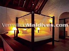 Bedroom of Soneva Fushi Villa - Maldives Luxury Holidays