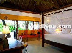 Interior of Crusoe Villa Soneva Fushi Maldives - Luxury Holiday Deals in Maldives