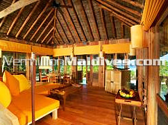 Interior of the Jungle Reserve in Soneva Fushi Maldives Resorts – Great Vacation spot