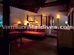 Living Room of Soneva Fushi Villa Suite - Maldives Hotel with Great Service