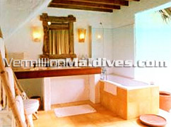 Luxurious Clean Bathroom - Crusoe Suite Soneva Fushi Maldives