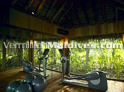 Personal Gym in the Jungle Reserve of Soneva Maldives – Island Hotel with Luxury