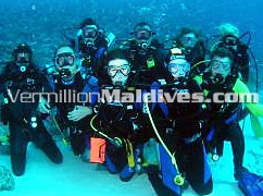 Scuba Diving and PADI Instructors in Sonevafushi Resort and Spa by the Six Senses Group of Hotels