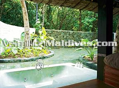 Soneva Fushi Villa Suite- Tree House with Out Door Bath