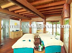 Treatment Rooms in  Spa Suite of  Sonvea Fushi Maldives