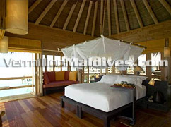 Bedroom of The Private Reserve - Soneva Gilli Maldives Resort by Sixsense