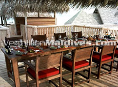 Dining Area The Private Reserve Soneva Gilli Maldives