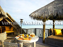 In VIlla Dining in the Villa Suites of Soneva Maldives Resorts - Six Senses Maldives