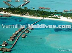 Soneva Gili resort hotel Maldives