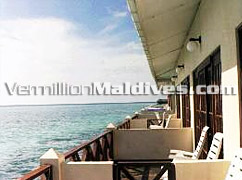Exterior of Water Bungalows – Perfect for Group bookings of Maldives