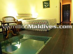 Interior of Water Bungalows of Summer Island Hotel – Enjoy the Island Style of Maldives