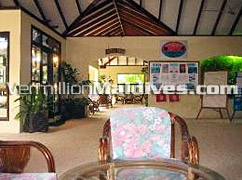 Lobby of Summer Island Maldives - Resorts Hotels that are great for a Maldives experience