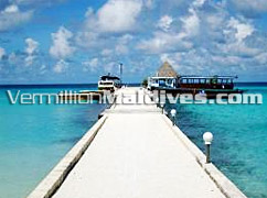 Main Jetty of Summer Island Resort of the Maldives-Make your vacation here