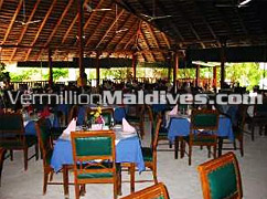 Restaurant that serves great food - Summer Island Maldives Hotels Vacations