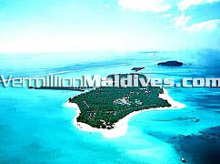Aerial View of Sun Island Resort Hotel for your Maldives Holiday