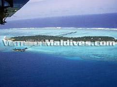 Picture of Sun Island from the Seaplane – Best accommodation in Maldives