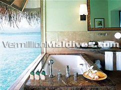 Bathrooms designed for Luxury in Taj Resort in Maldives – Islands of Paradise