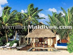 Beach Villa with Pool - Taj Exotica & Spa – great Accommodation in Maldives