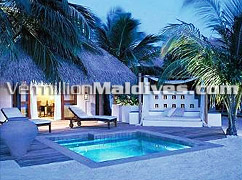 Best accommodation with private pool - Taj Exotica Resort and Spa Maldives