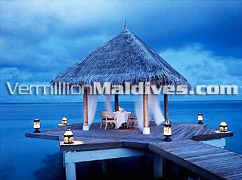 Private Dining for you and your Loved one in Taj Exotica - The Maldives resort of Taj