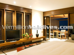 Inside of Villas at The HAVEN Resort Maldives – Modern & unique Vacation Retreat