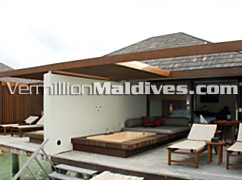 Sun Deck at The HAVEN Maldives. A Luxury Resort