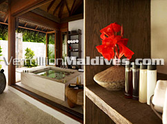 Bathroom of your room - Regent Maldives Malefushi