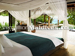 Interior of Beach Pavilion of Regent Maldives – Class and Comfort in one room