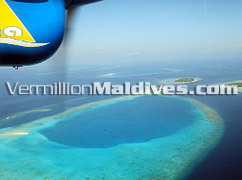Scenic flight to Thaa Atoll - The Regent Maldives