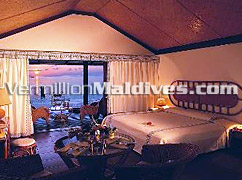 View from the room of Thundufushi - Beach Island Resort of Maldives for you
