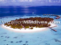 Aerial Shot of Thulhagiri Island Resort Maldives – Special Beach Holidays
