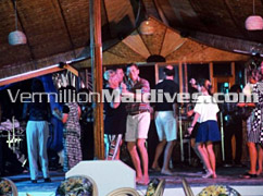 Disco – dance with a Maldivian tune at Thulhagiri Maldives Beach Resort