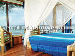 Interior Water Bungalows Hotels Maldives Thulhagiri