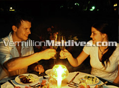 Romantic Dinner - Thulhagiri Maldives Island – Romantic and Sexy Resorts