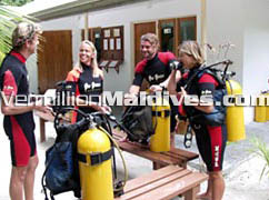 Diving, excursion many activities available at Vakarufalhi resort