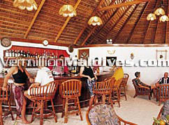 The bar at Vakarufalhi Maldives.  Great Tropical holiday resort