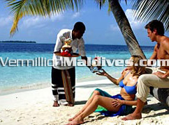 Tropical and sexy environment at Maldives. Spend time with your loved one
