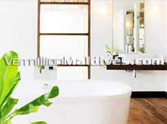 Bathroom of Velassaru Maldives – Honeymoon Resort for your Escape