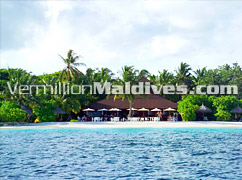 View of Island from Sea – True Maldivian experience in velidhu Island
