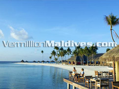 Dhonveli Restaurant of Veligandu Island Resort Maldives Vacations – Enjoy Great food and Tasty Maldivian Drinks