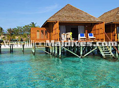 Outside view of Jacuzzi Water Villas Veligandu Island Maldives Resorts – Great Resort with Great Service