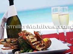Great Food in Great Resort of Villivaru  Maldives Resort – Classic Beach Resort