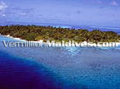 Picture of Island of Villivaru - Aerial view
