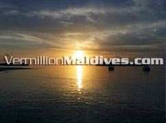 View of Villivaru and Biyadoo – Sunset Excursion from Villivaru Island Resort