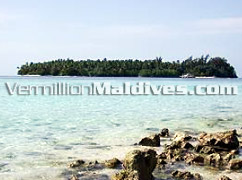 View of Villivaru from Biyaadoo Maldives – Budget Holiday Destination