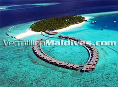 Aerial View - Vilu Reef Beach & Spa – Maldives resort Hotel