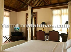 Bed Room - Vilu Reef Maldives - Beach Hotel