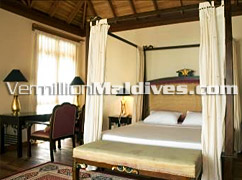 Bed Room of the Presidential Suite - Vilu Reef Maldives