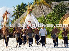 Ceremonial Wedding with a local touch of Maldives - Vilu Reef Beach & Spa