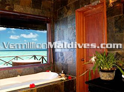 Clean and beautiful Bath Room - Vilu Reef Beach & Spa – Maldives